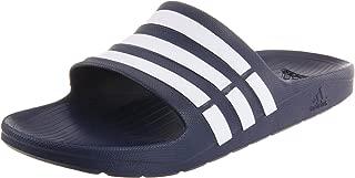 adidas Unisex-Adult Mens Duramo Slide-U Duramo Slide Blue Size: 15 Women/13 Men