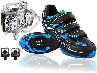 mountain bike shoe and pedal combo