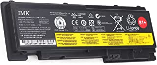 IMK T430S 81+ Battery for Lenovo ThinkPad T420i T420s T430s 0A36287 42T4844 42T4845 42T4846 42T4847 45N1036 45N1037 45N1038 45N1039 45N1064 45N1065 45N1143,[11.1V /3900mAh 6-Cell], T430S/B
