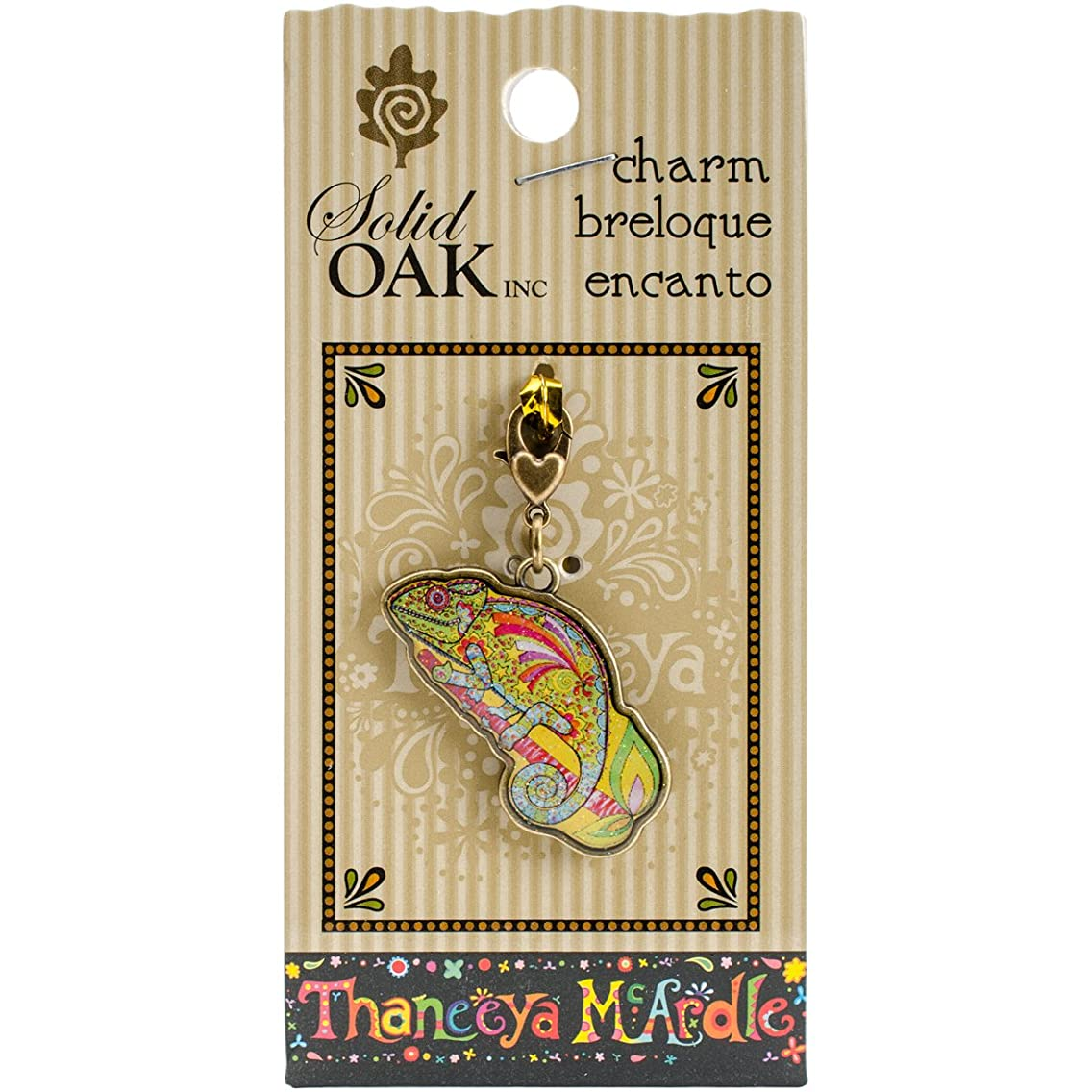Solid Oak TM052 Thaneeya(R) LLC Acrylic Charm 1/Pkg-Chameleon