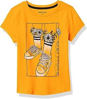 NAUTICA Toddler Girls' Short Sleeve Graphic Tee