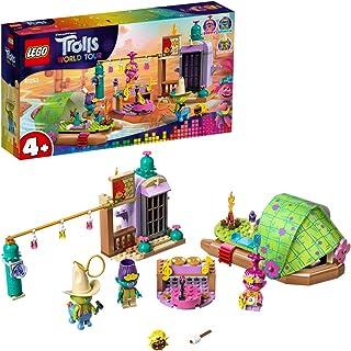 LEGO 41253 Trolls World Tour Lonesome Flats Raft Adventure zestaw do zabawy z makiem, gałęzią i historią