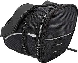 CJshop Bicycle Bag Bicycle Bag Rear Tail Bag Mountain Bike Road Bike Saddle Bag Foldable Tail Bag Saddle Mobile Phone Acce...