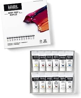 Liquitex 3699357 Heavy Body Acrylic Paint, Essentials