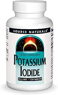 Potassium Iodide Source Naturals, Inc. 120 Tabs