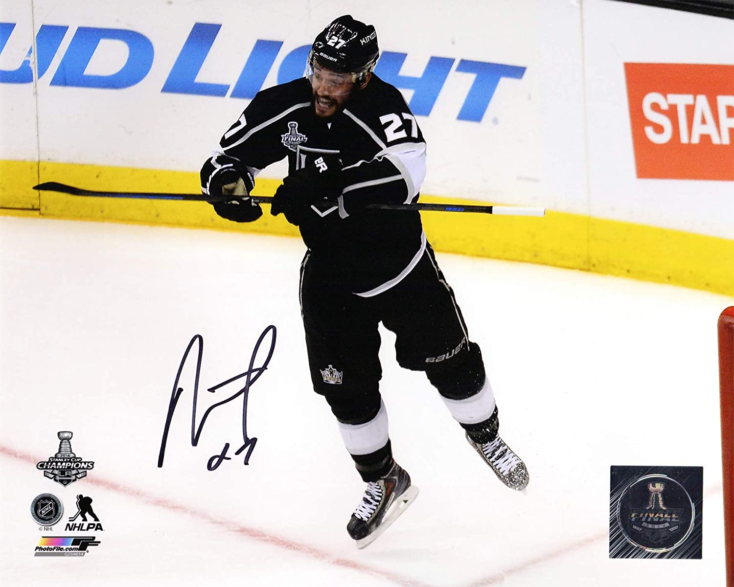 Alec Martinez Los Angeles Kings 2014 Stanley Cup Action 8x10 Photo