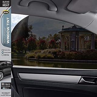 Gila® Heat Shield VLT Automotive Window Tint DIY Heat Control Glare Control Privacy 2ft x 6.5ft (24in x 78in), 35% Dark Sm...