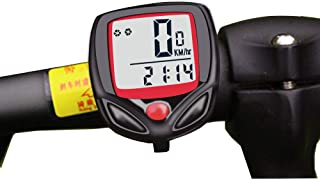 comprar comparacion Mein HERZ Bicicleta Cuentakilómetros, 15 Funciones, para Medir la Velocidad de la Bicicleta, Kilometraje