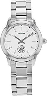 Tory Burch Collins Ivory Dial Stainless Steel Ladies Watch TB1301