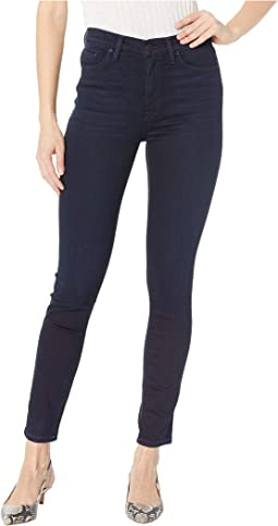 Barbara High-Rise Ankle High-Waisted Skinny Jeans in Idle
