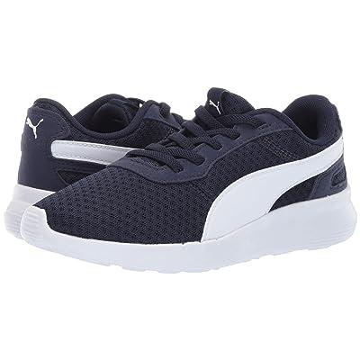 Puma Kids ST Activate AC (Little Kid/Big Kid) (Peacoat/Puma White) Kids Shoes