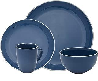Halo by Darbie Angell Harmony 16 Piece Stoneware Dining Set - Blue