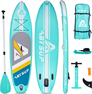 """ABYSUP Paddle Board, 10'6"""" Inflatable Paddle Board, SUP, Stand-Up Paddleboard with All Accessories & Carry Bag, Non-Slip D..."""