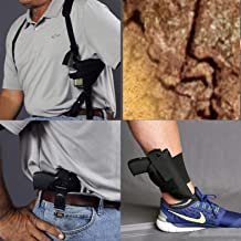 BUY 1 SHOULDER HOLSTER GET AN ANKLE AND CONCEALED FREE FITS S&W MODEL 640 357 MAGNUM/38 SPECIAL +P 2.13