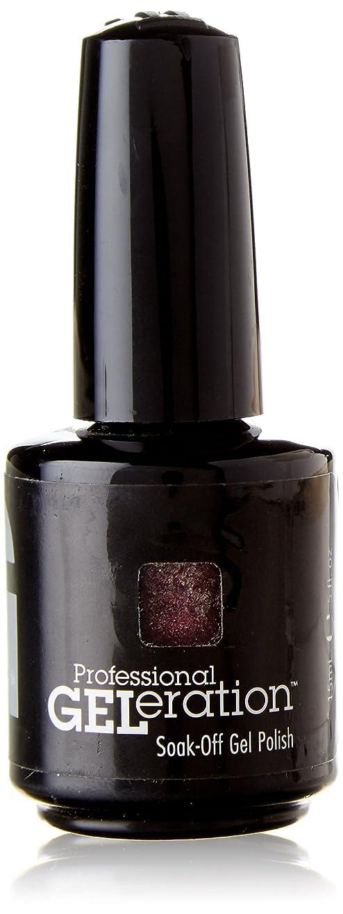 体操選手ガス浸したジェレレーションカラー GELERATION COLOURS 955 F デートミー 15ml UV/LED対応 ソークオフジェル