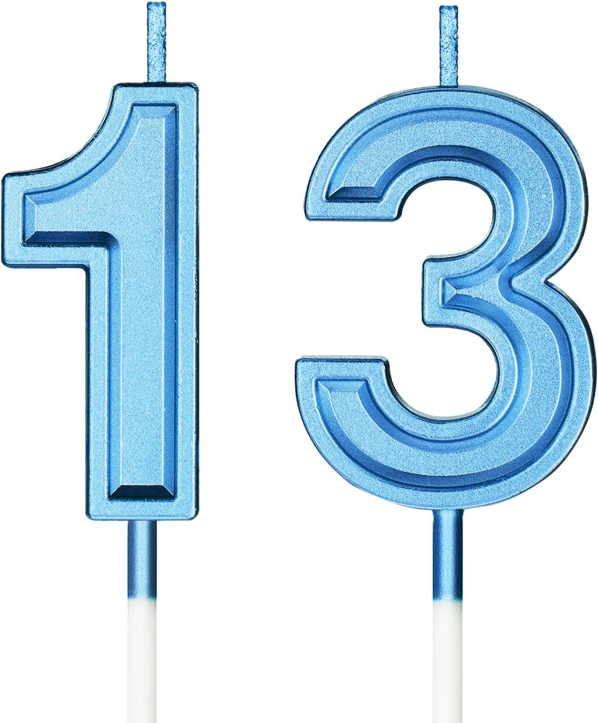 Syhood 13th Birthday online shop Candles Cake Numeral Max 61% OFF Happy