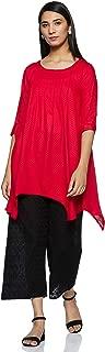 Gerua Women's Rayon a line Salwar Suit Set