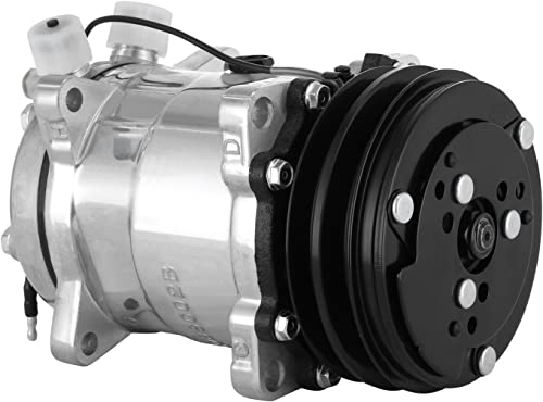 high quality Mophorn CO 9285C AC Compressor SD508 Air discount Conditioning Compressor Car online for 1985-1990 Wrangler and Cherokee and Comanche Air Conditioning Compressor (SD508) sale