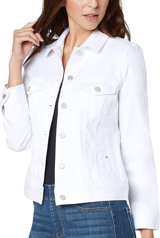 Liverpool Classic Denim Jacket - Bright White