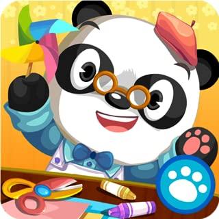 dr panda art class