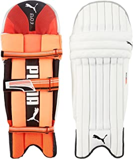 Puma, Cricket, Evo 3 Batting Pad, Fiery Coral/White