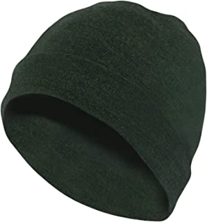 Unisex Merino Wool Cuff Beanie Hat - Choose Your Color