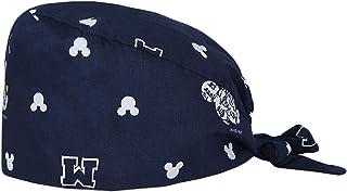 قبعة بعصابة رأس جراحية للنساء والرجال في الطاقم الطبي