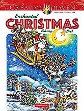 Creative Haven Enchanted Christmas Coloring Book