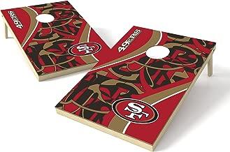 PROLINE 2'x3' NFL San Francisco 49ers Cornhole Set - Millennial S Bend Design