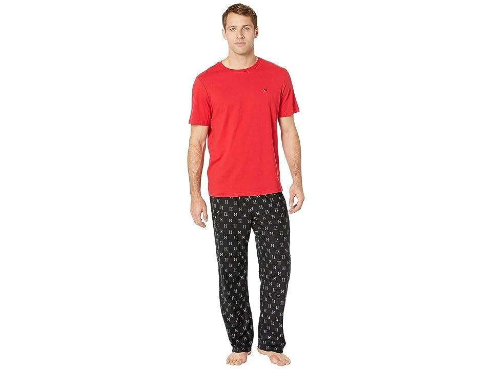 Tommy Hilfiger Cozy Fleece Pajama Set (Dusk) Men
