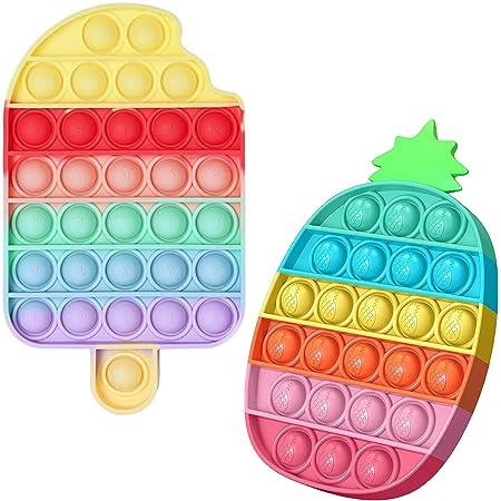 YAJ - Jouet anti-stress et sensoriel pour les enfants et les adultes (Pineapple & Ice Cream)