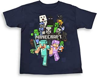 Minecraft Shirt for Boys Character Group Tee
