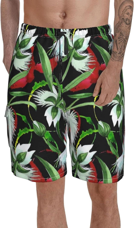 Ranking TOP3 Printed Swimming Trunks Men Swim Floral Botani Wildflower San Francisco Mall Shorts