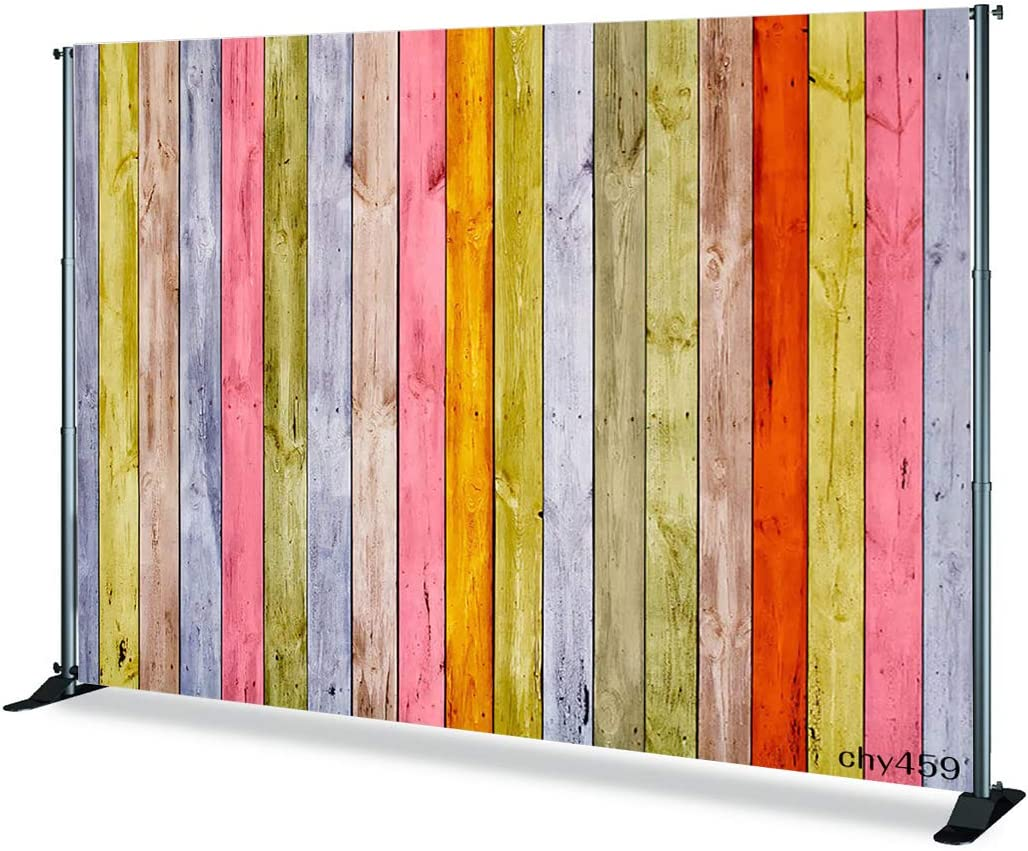 Levoo Flannel Wood Background Photography Studio Vintage Worn Wooden Boards Backdrop Birthday Family Party Holiday Celebration Romantic Wedding Photography Home Decoration 10x10ft,chy456