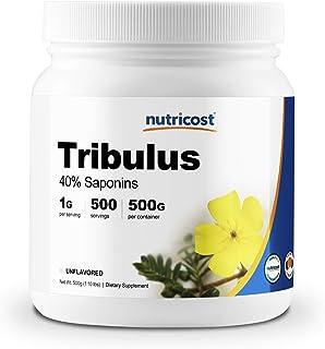 Nutricost Tribulus Terrestris Powder 500 Grams (1.1lbs) - Gluten Free, Non-GMO