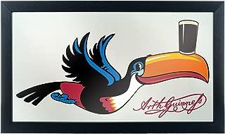 Trademark Gameroom Guinness Toucan Framed Mirror Wall Plaque, 15