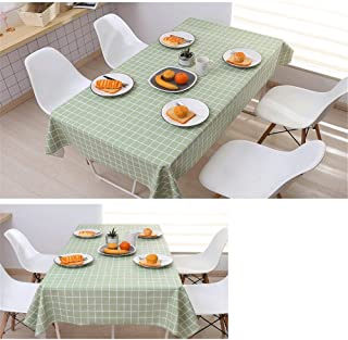 TTAVT Cloth Tablecloth Waterproof Anti-scalding Oil-Free Disposable Table Cloth Coffee Table Table Cloth Plastic PVC Table mat Nordic net red ins