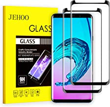 [2-Pack] Galaxy S9 Screen Protector, JEHOO [9H Hardness][Anti-Fingerprint][Ultra-Clear][Bubble Free] Tempered Glass Screen Protector Compatible with Samsung Galaxy S9