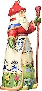 """Best Jim Shore Heartwood Creek Dutch Santa Stone Resin Hanging Ornament, 4.5"""" Review"""