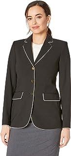 Calvin Klein Womens Woven Button Front Jacket