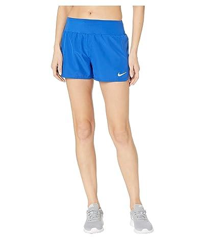 Nike Crew Shorts (Game Royal/Reflective Silver) Women