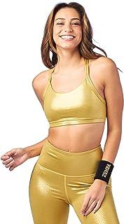Zumba Women's High Impact Workout Support Print Sports Bra