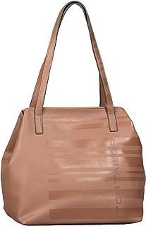 TOM TAILOR bags MIRI STRIPE PRINT Damen Shopper L, 42x20x28