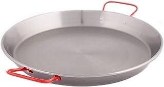 LA IDEAL - Paellera valenciana para 10 personas, 42 cm, Gris