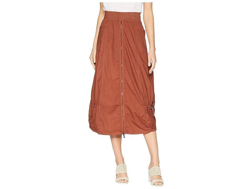 XCVI Blithe Skirt (Auburn) Women