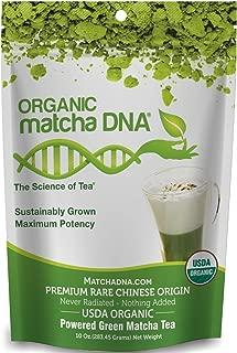 MATCHA DNA Organic Powdered Matcha Green Tea, 10 Ounce