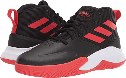 Core Black/Active Red/Footwear White