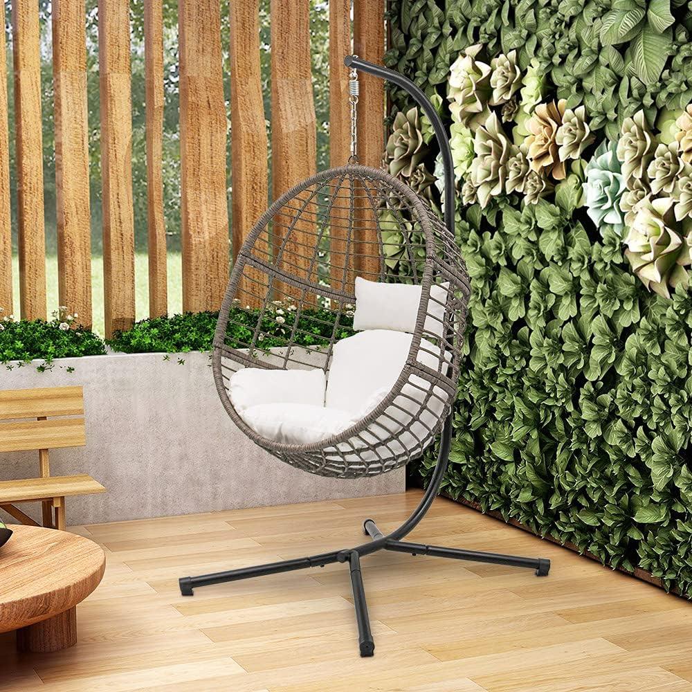 ABBLE Indoor 35% OFF Outdoor Patio Bombing new work Porch Wicker Basket Chair Swing
