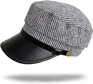 WHITE FANG(ホワイトファング) キャスケット 帽子 秋冬 防寒 レザー ベルト ハット キャップ おしゃれ レディース CA101