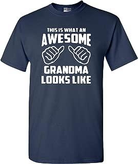 navy grandma t shirt